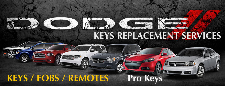 Dodge Key Replacement  service dodge keys replacement
