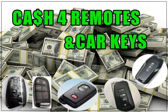 Remote Recycle cash for remotes